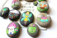 Story Stones and Painted Rocks / Enchanted by Thrive360Living