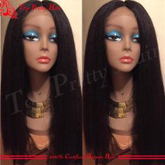 Cheap Virgin Unprocessed Italian Yaki Full Lace Wig African American Human Lace Front Wig With Baby Hair Kinky Straight Coarse Wigs Brazilia Full Lace Wig Best Lace Wigs From Topprettyhair, $148.75| Dhgate.Com