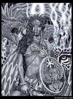 aztec warrior princess