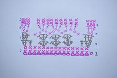 Op instagram vroeg een volger naar dit patroon. Hoewel de deken nog niet klaar is, kan ik het patroon al wel voor je uitwerken. Benodigdheden: 3 kleuren wol. Ik gebruikte Royal van de Zeeman. Fuchsia Grijs licht roze Haaknaald nr. 5, of wat je zelf …