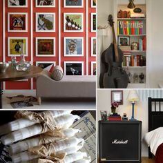 Decorating Ideas For Music Lovers - www.casasugar.com