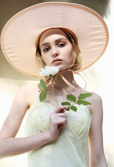 Lily-Rose Depp, shot by Dana Boulos   Oyster Magazine   oystermag.com
