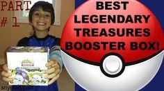 #VIDEO: BEST Pokemon Legendary Treasures Booster Box Opening Video - Part 1 of 2.  WATCH: https://youtu.be/ZmtepAkWrTo