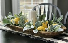 88 Affordable Diy Spring Farmhouse Decorating Idea If you want to create a traditional kitchen, checking out antique farmhouse tables for sale is a definite item on […] Dining Room Centerpiece, Dining Room Table Centerpieces, Decoration Table, Summer Table Decorations, Summer Centerpieces, Kitchen Table Decorations, Kitchen Island Centerpiece, Easter Centerpiece, Tray Decor