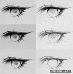 Trendy Drawing Realistic Anime Step By Step 65 Ideas - Trendy Drawing Realistic. - Trendy Drawing Realistic Anime Step By Step 65 Ideas – Trendy Drawing Realistic Anime Step By St - Step By Step Sketches, Sketches Tutorial, Step By Step Drawing, Eye Tutorial, Realistic Eye Drawing, Manga Drawing, Drawing Eyes, Drawing Hair, Gesture Drawing