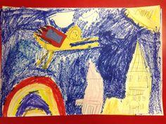 Primary Color Super Hero 1st Grade Artist