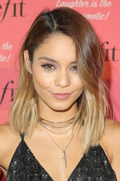 Vanessa Hudgens attends the Benefit Cosmetics event at Space 15 Twenty on September 26, 2014 in Los Angeles, California