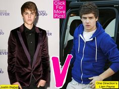 Justin Bieber Claims One Direction stole his haircut...who's cuter - Liam or Justin?