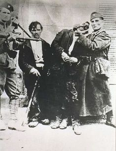 Jasenovac prisoners abused for the camera.