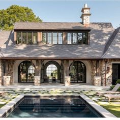 """Terra Palmer Designs on Instagram: """"Swipe left◀️ This house was featured in Departures and it deserves an applause 👏🏼 builder @francisbryantconstruction architect Tom Adams…"""" Country Estate, The Hamptons, Gazebo, Outdoor Living, Exterior, Outdoor Structures, House Design, Mansions, Architecture"""