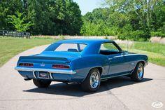 Le Mans Blue 1969 Camaro