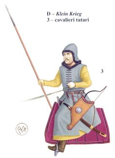 Tatar cavalry, late 16th century