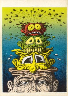 my uncle bob told me i would like him...he was right! Robert Crumb. 1970