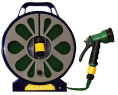 Green Blade BB-HP110 50ft Flat Hose with Spray Nozzle ** Read more info by clicking the link on the image. #Gardening