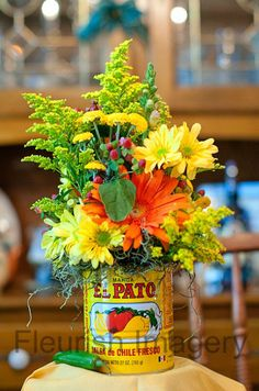 Fiesta themed rehearsal dinner.  Love the colors!                                                                                                                                                     More