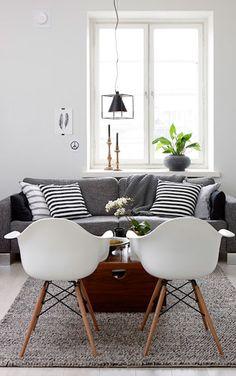 Scandinavian interior design inspiration - Black and white home in Helsinki