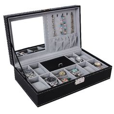 3ef382677 31 Best Men's Jewelry Boxes images in 2016 | Jewelry box with lock ...