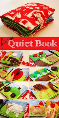 Quiet Book Patterns & Ideas Use quiet books to teach skills such as getting dressed, sorting, categorizing, etc.