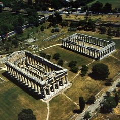 Paestum . Greek temples by Goldenpixel, via Flickr
