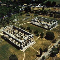 Paestum . Greek temples by Goldenpixel, via Flickr