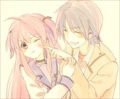 Angel Beats, Yui and Hinata