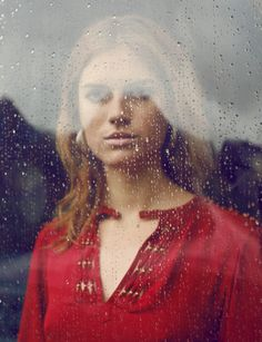 JUCO #Juco #photography #portrait #color #red #rain