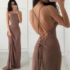 Soft Open Back Prom Dress Sheath Sexy Prom Dresses, Long Prom Dress, Backless Prom Dress, Soft Chiffon Prom Dress Straps Prom Dresses, Open Back Prom Dresses, Simple Prom Dress, Ball Dresses, Sexy Dresses, Beautiful Dresses, Evening Dresses, Formal Dresses, Dress Long