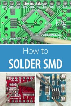 Learn what surface mount devices (SMD) components are and how to solder these teeny tiny analog electronic parts! #electronics #tinkering #tech #soldering #circuits #PCB