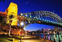 Circular Quay in Sydney, Australia Sin City, Emerald City, Sydney Australia, Sydney Harbour Bridge, Cities, Places To Go, World, Travel, Beautiful