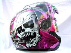 if i ever had a bike.. i'd make it match this helment..just so i can match it!