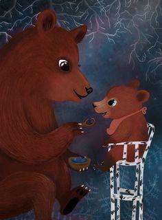 Mother bear and baby Jonna Markkula