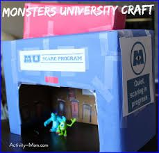 monster inc craft - Google Search