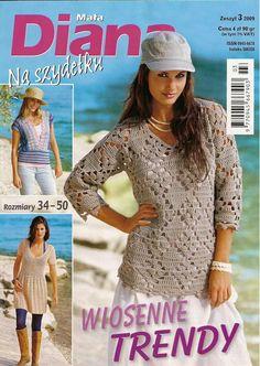 Mala Diana na szydelku № 3-2009. Diskussion über Liveinternet - Russisch Service Online-Tagebücher