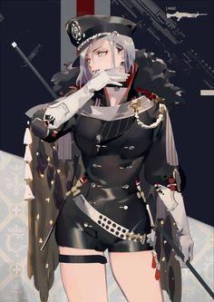 Anime Girl wsrior