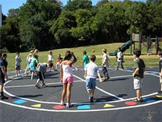 Low Cost Playgrounds Can Result in High Levels of Activity | Peaceful Playgrounds