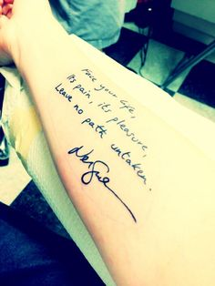 """My favorite quote from """"The Graveyard Book,"""" penned by Mr. Gaiman himself"""