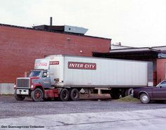 Inter-City Truck Lines Chevrolet Trucks, Gmc Trucks, Sexy Quotes For Him, Truck Transport, Freight Truck, Large Truck, Vintage Trucks, Tractors, Vehicles