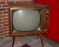 """1950's TV...  with remote. (dad) """" boy get up and change the Chanel"""". (me ) """" but I want to watch this"""". ( dad) your gona watch my belt in a minet, change the dam chanel I want to watch mash""""."""