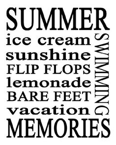 50 Summer free printables for parties, activities, subway arts & more for families and kids. Party ideas and game fun for summer with home decorative ideas Summer Breeze, Summer Sun, Summer Of Love, Summer Nights, Summer Time, Pink Summer, Summer Colors, Hello Summer, Summer Food