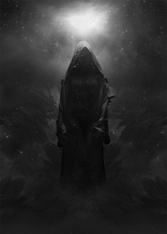 Dark Goddess ~ En Erebos Phos (this reminds me so much of Hekate <3)