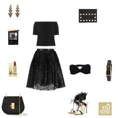 Evening Outfit: Black Magic. Mehr zum Outfit unter: http://www.3compliments.de/outfit-2015-07-27