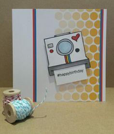 Card created using Avery Elle #smile.