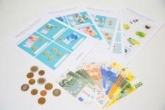 Actividades descargables gratis para aprender a contar y a manejar el dinero de manera divertida