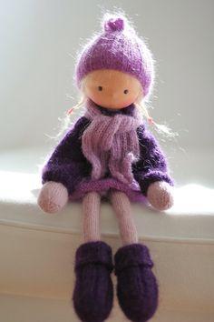 """Трикотажные куклы Лилиан 14 """"по Peperuda кукол"""