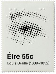 200th birthday ofLouis Braille — Ireland (2009)