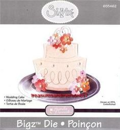 Sizzix Bigz Die Wedding Cake