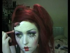Dead Doll Horror Makeup