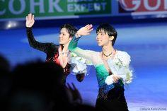 "amateurlunatic: ""Yuzuru Hanyu and Shoma Uno   World Championships 2017 (my worlds 2017 photos) """