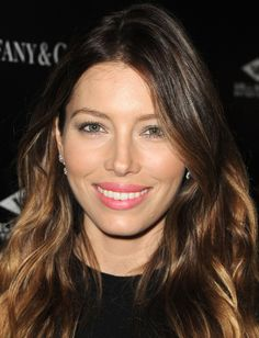 Love this lip color! Hit the Snooze Too Much? How to Get Jessica Biel's Simple Makeup in Minutes