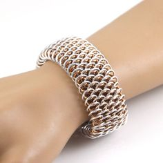 """Armbånd """"Dragonscale"""" via Kredah. Click on the image to see more!"""
